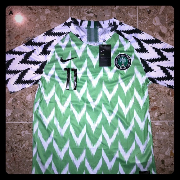 8f05cef9e Nike Nigeria Victor Moses World Cup Soccer Jersey